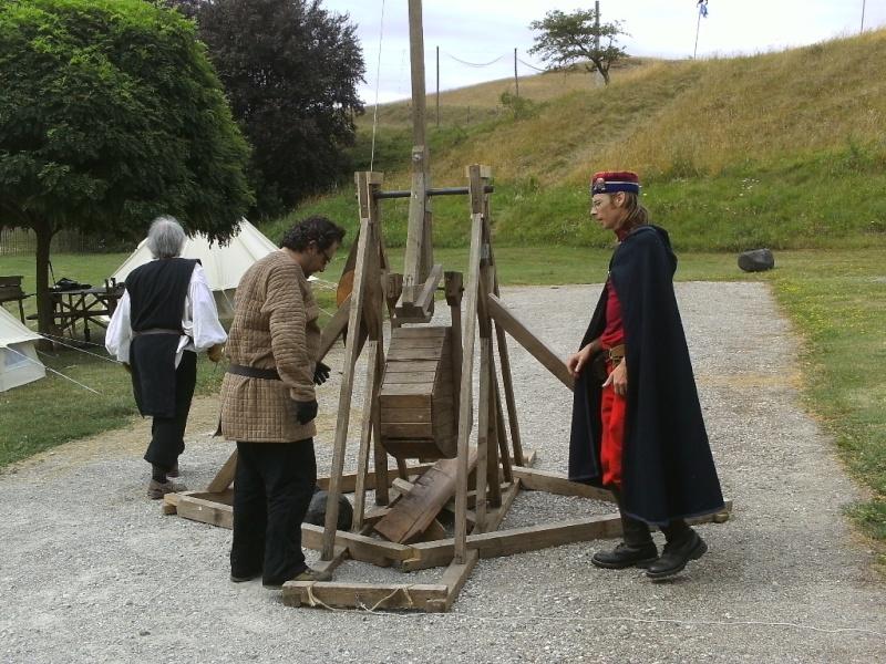Ribaudequin Veuglaire Catapulte Pierrier à Boite 10_cat10