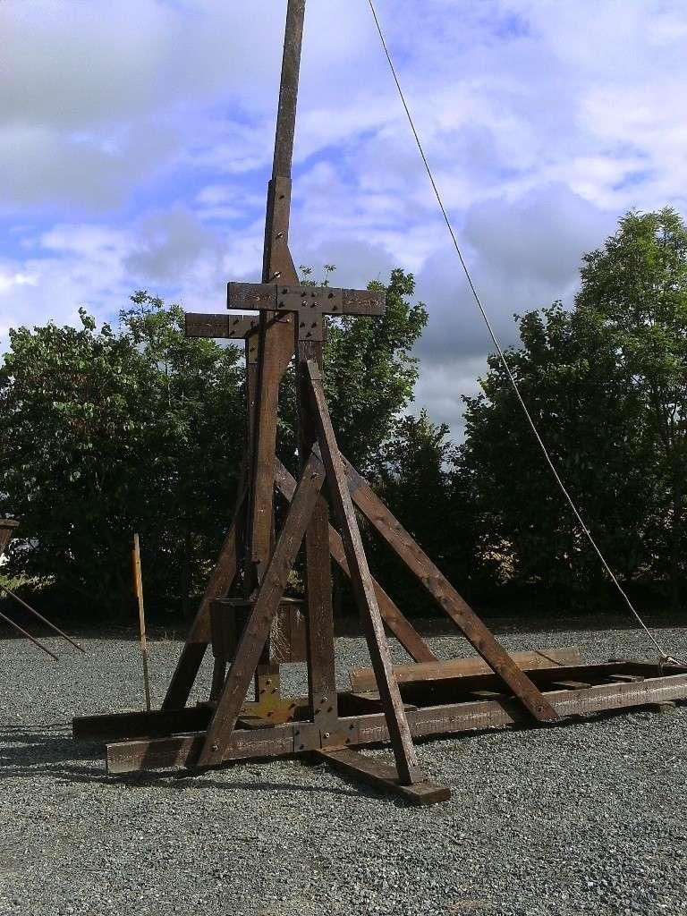 Ribaudequin Veuglaire Catapulte Pierrier à Boite 12_cat10