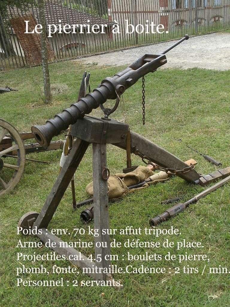 Ribaudequin Veuglaire Catapulte Pierrier à Boite 6_le_p10