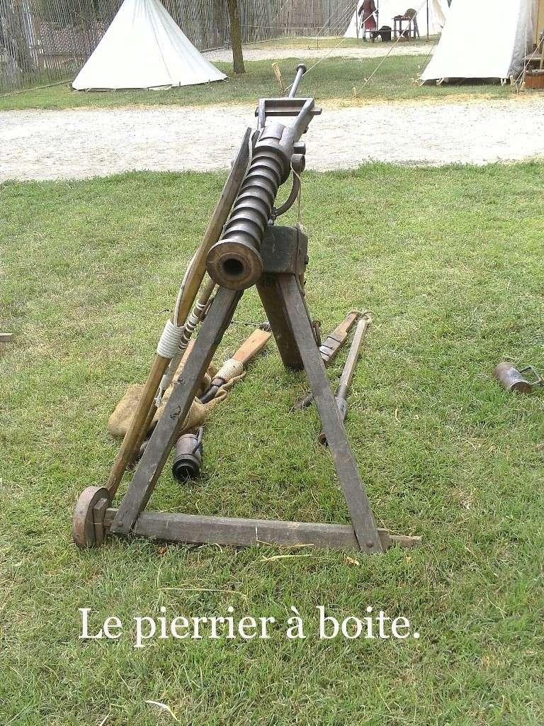 Ribaudequin Veuglaire Catapulte Pierrier à Boite 7_le_p10