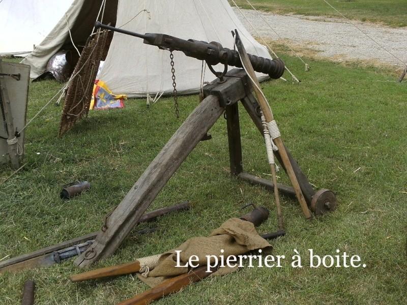 Ribaudequin Veuglaire Catapulte Pierrier à Boite 8_le_p10