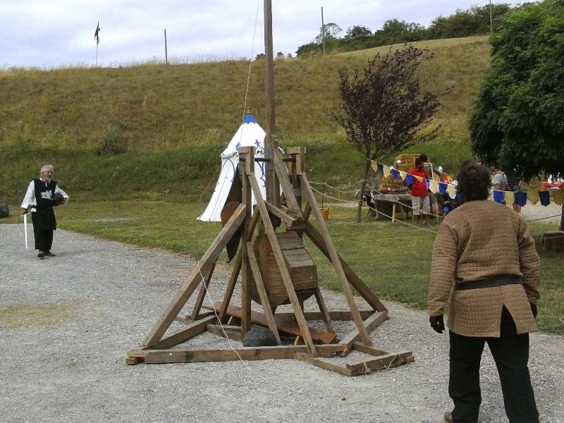 Ribaudequin Veuglaire Catapulte Pierrier à Boite 9_cata10