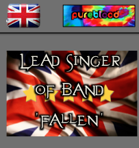 British - Pureblood - Lead Singer of 'Fallen'