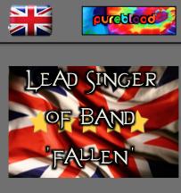 British - Pureblood - Lead Singer of 'Fallen'