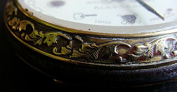 montre à gousset avec symboles maçonniques Detail10