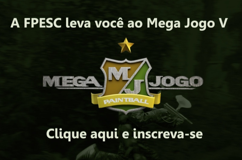 Faça sua inscrição no Mega Jogo V direto do site da FPESC Chamad10