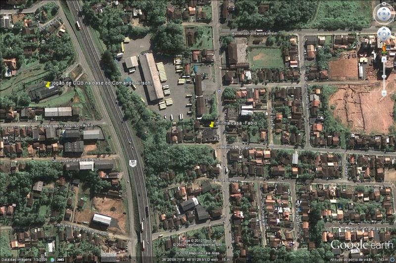 CQB na base da CAJ em 28/04/2012 Imagem10