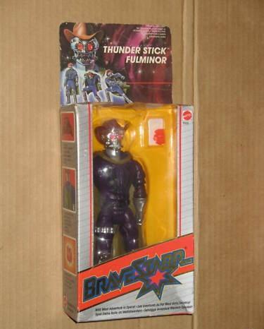Cerco Bravestarr Thunderstick MISB 12915310
