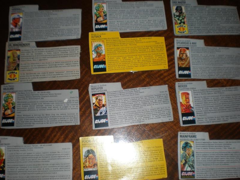 SCAMBIO lotto Gi Joe A.R.A.H. completi e  perfetti SOLO con Motu! P6290719