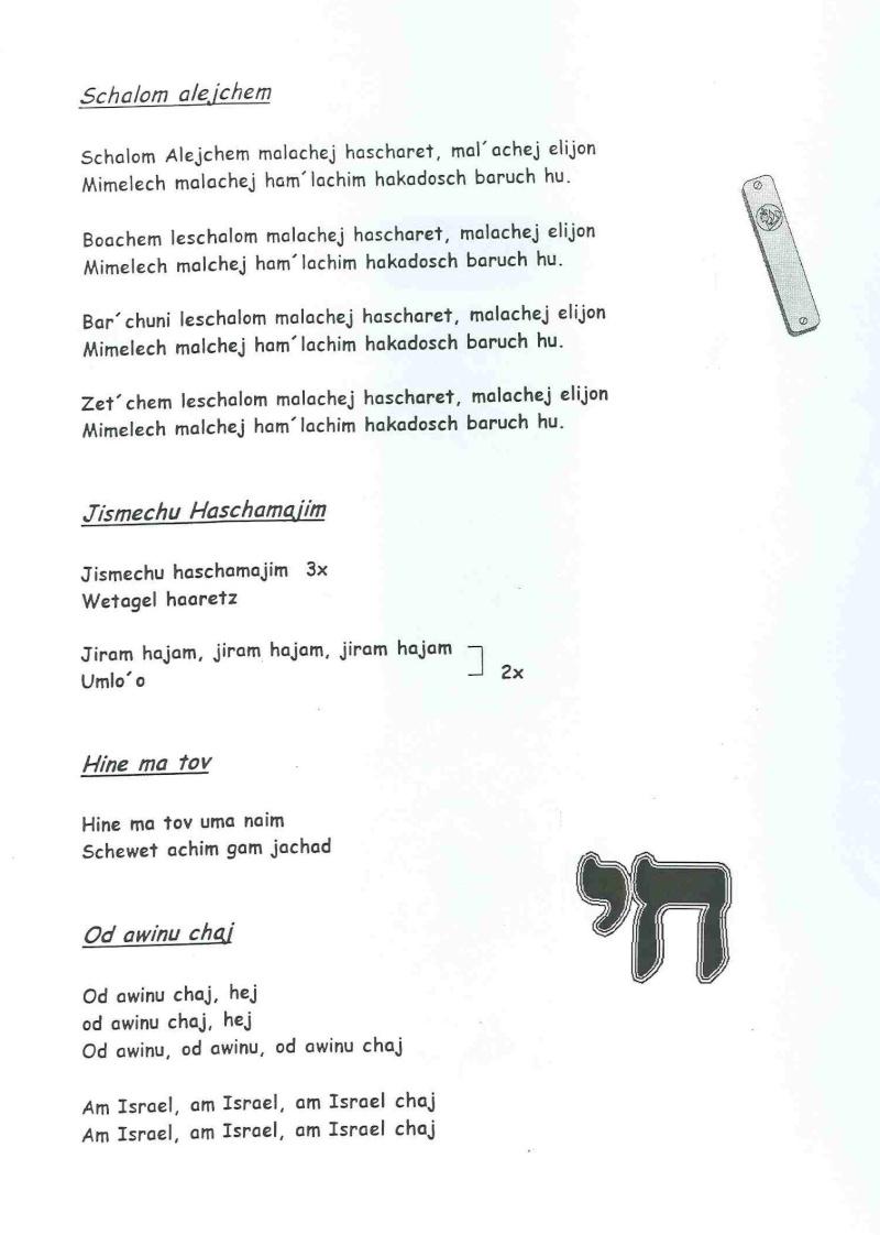 SHABBAT Feier bei Christen Schisc16