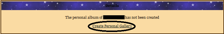 Guide to uploading pictures in the Gallery Galler12