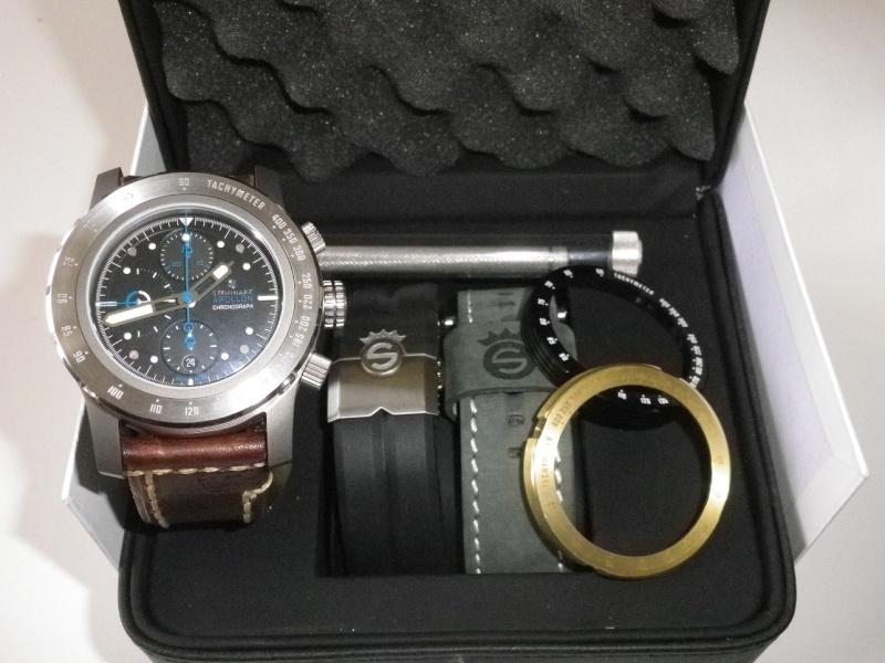 Review sur ma Steinhart Apollon Chronograph DIFFERENT SETUPS Imgp1110
