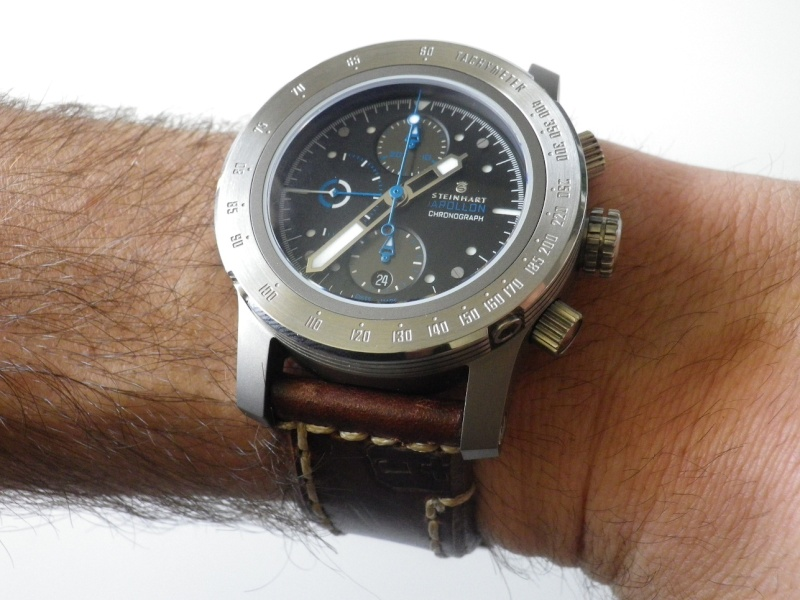 Review sur ma Steinhart Apollon Chronograph DIFFERENT SETUPS Imgp1112