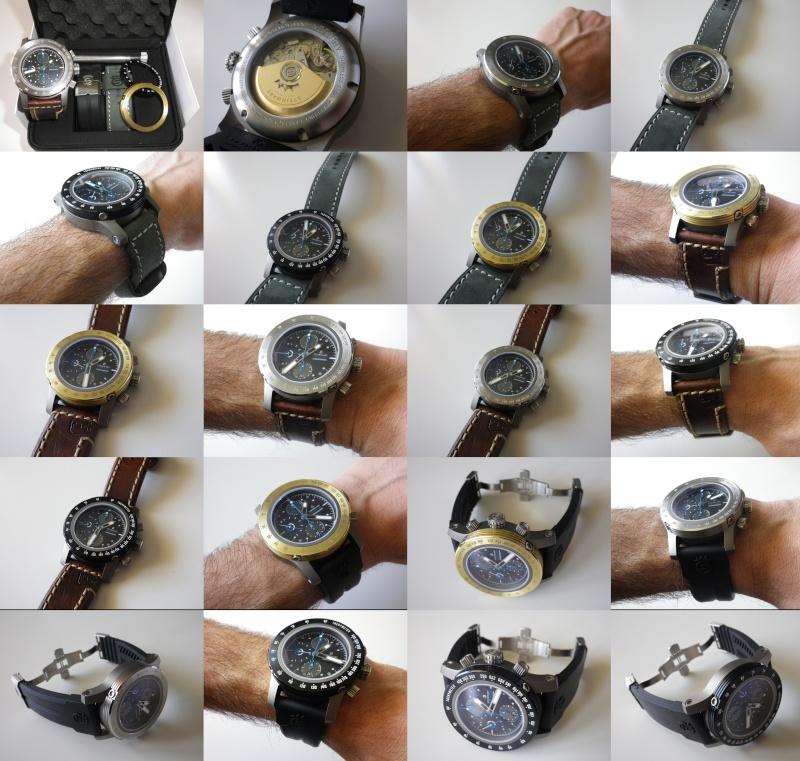 Review sur ma Steinhart Apollon Chronograph DIFFERENT SETUPS Steinh11