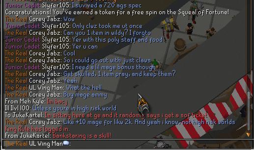 I didnt even get a spin, stupid troll Lol_10
