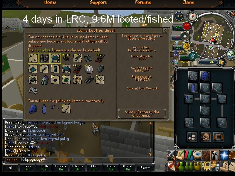 4 days, 600k xp in LRC Lrc_ss11