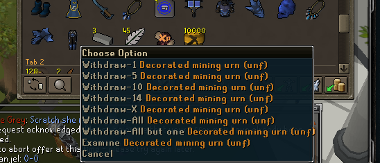 10k unfired urns made :) Urns10