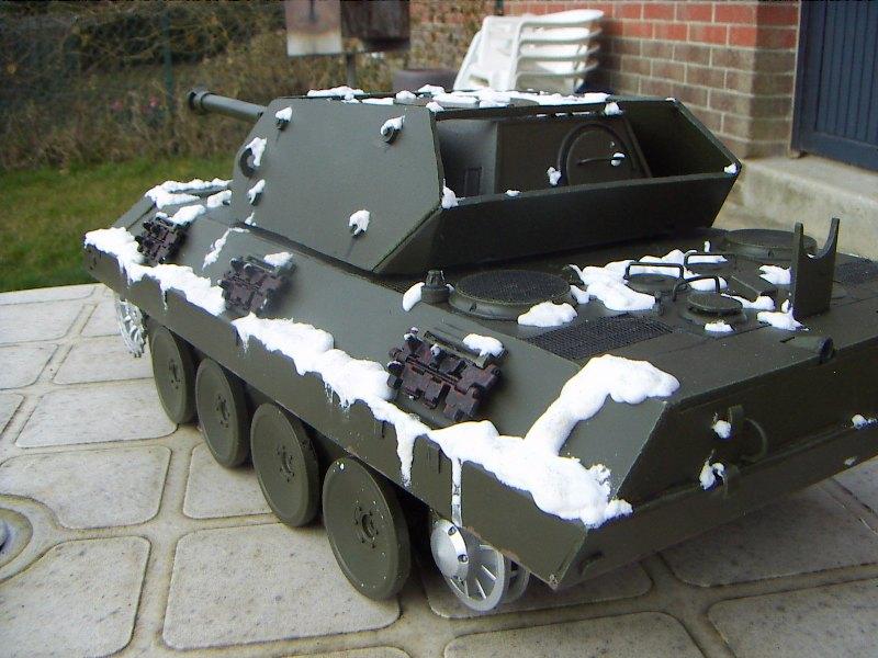 Panther Panzer Brigade 150 - Skorzeny - Neige_10