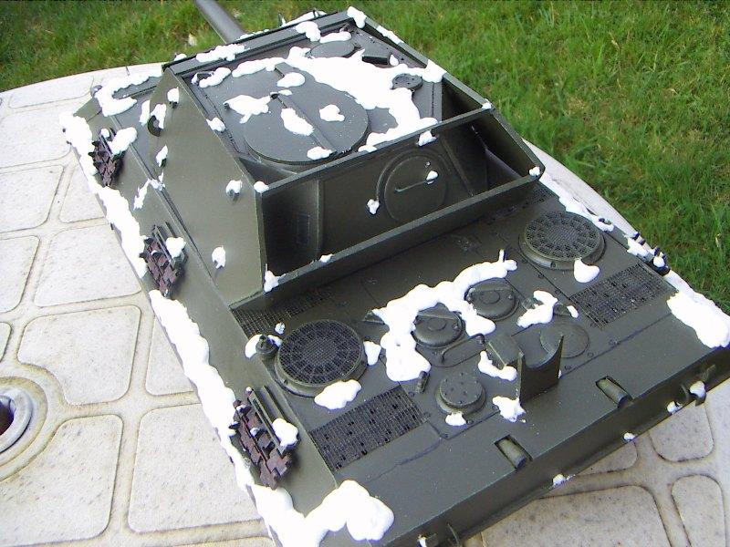 Panther Panzer Brigade 150 - Skorzeny - Neige_11