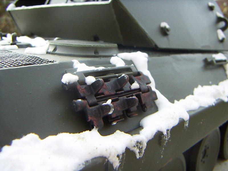 Panther Panzer Brigade 150 - Skorzeny - Neige_12