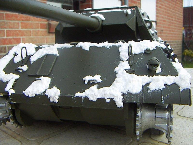 Panther Panzer Brigade 150 - Skorzeny - Neige_13