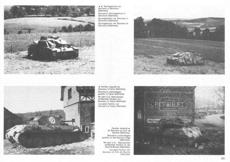 Panther Panzer Brigade 150 - Skorzeny - Skorze10