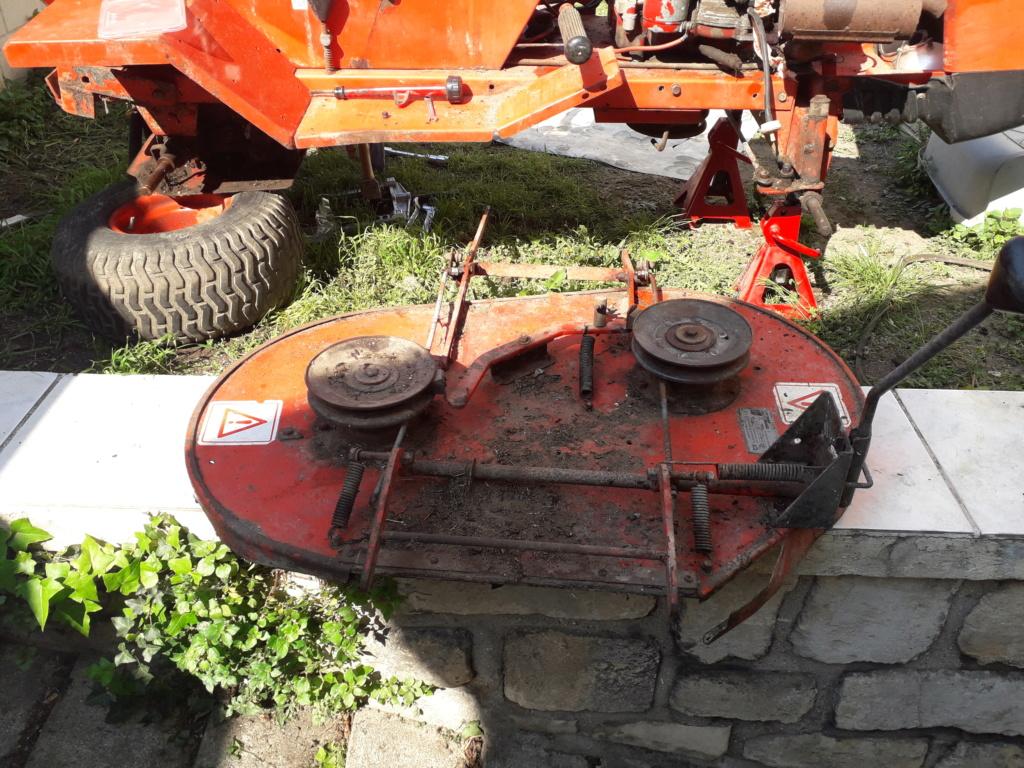 tracteur tondeuse  20190432