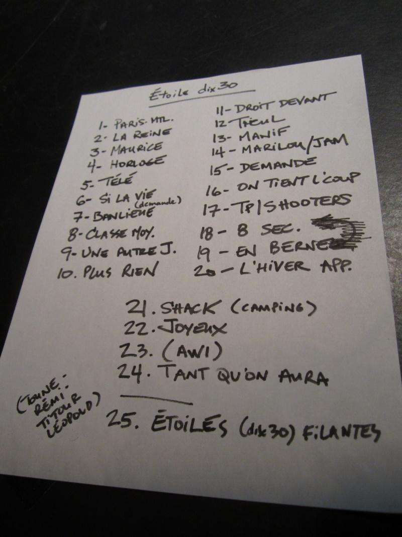 Retour Brossard 10 Mai 2012 Setlis10