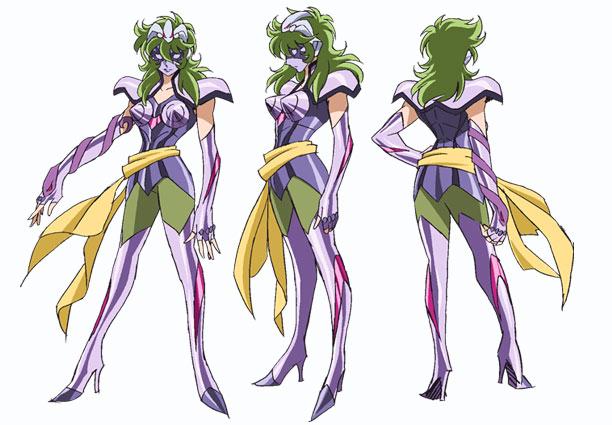 Personajes Saint Seiya Omega Saina11