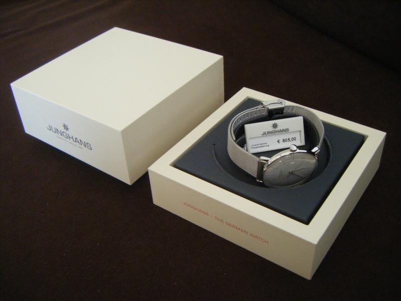 Présentation de ma nouvelle Junghans automatic, bracelet mailles milanese Dscf0111