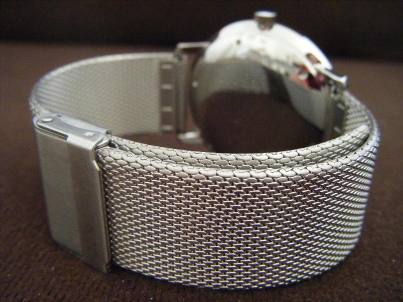 Présentation de ma nouvelle Junghans automatic, bracelet mailles milanese Dscf0211