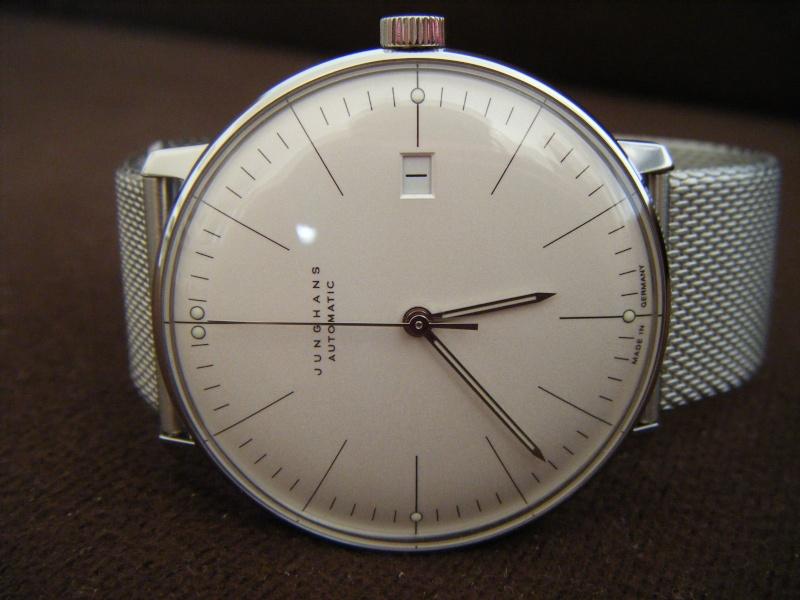 Présentation de ma nouvelle Junghans automatic, bracelet mailles milanese Dscf0212
