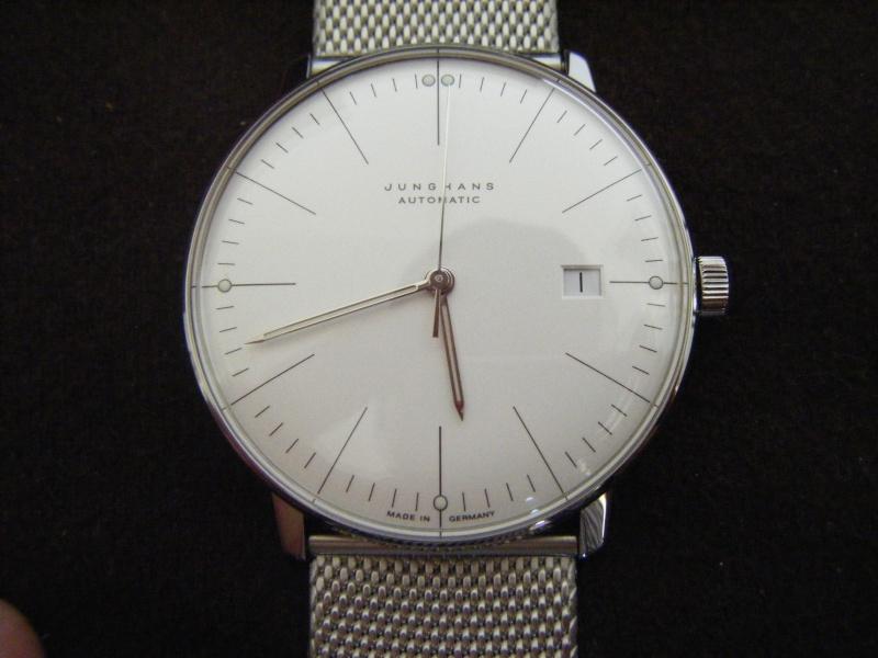 Présentation de ma nouvelle Junghans automatic, bracelet mailles milanese Dscf0213
