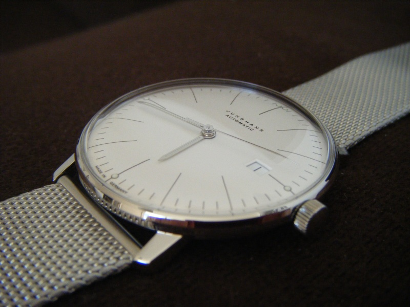 Présentation de ma nouvelle Junghans automatic, bracelet mailles milanese Dscf0214