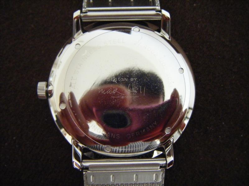 Présentation de ma nouvelle Junghans automatic, bracelet mailles milanese Dscf0215