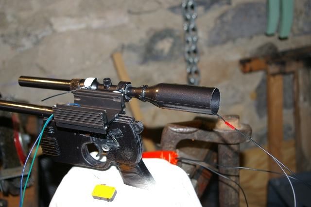 "Heavy Blaster DL-44 ""home made"" pour mini Han Solo 2910"