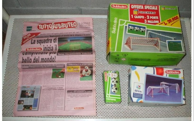 scambio / vendo lotto SUBBUTEO 0010
