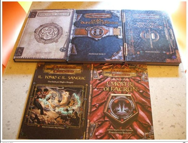scambio manuali DUNGEONS & DRAGONS  4510