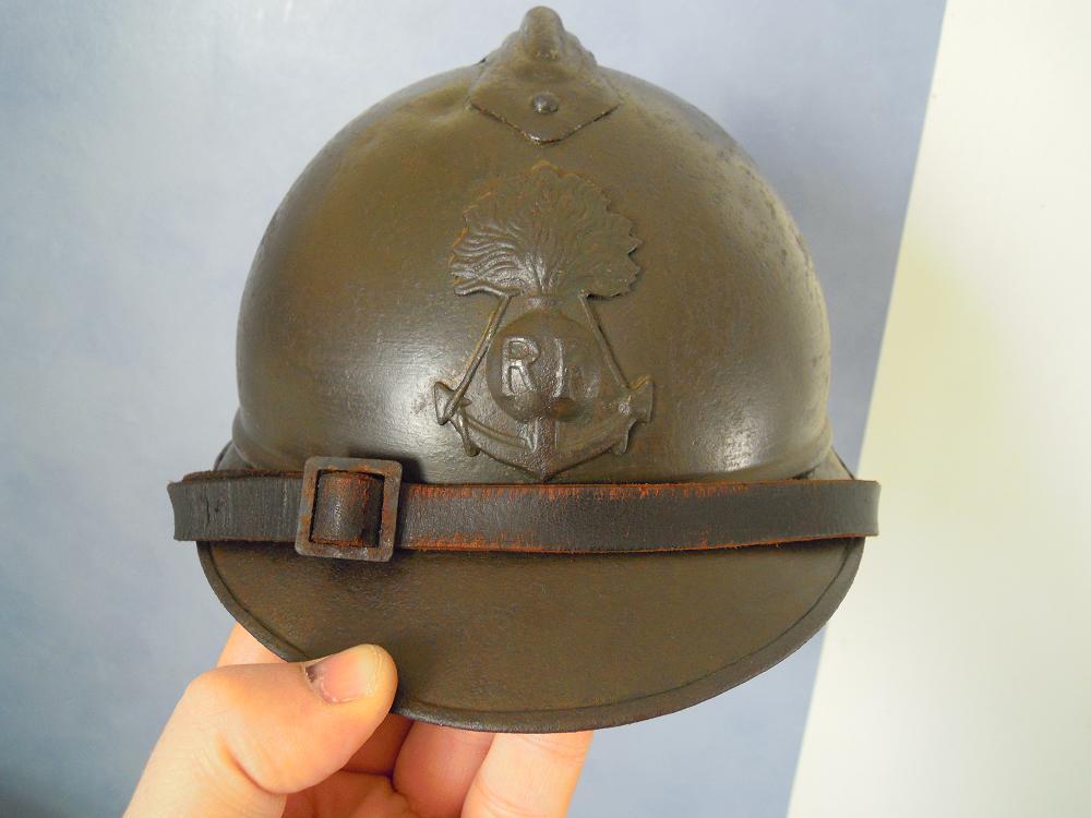 Authenticité insigne modèle 1915 Colo - casque modèle 1926 Dscn0810
