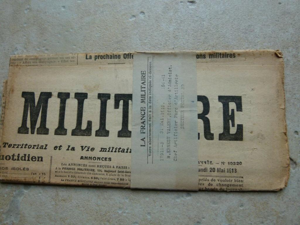 Du papier sympa,journal la france militaire. Jour1810