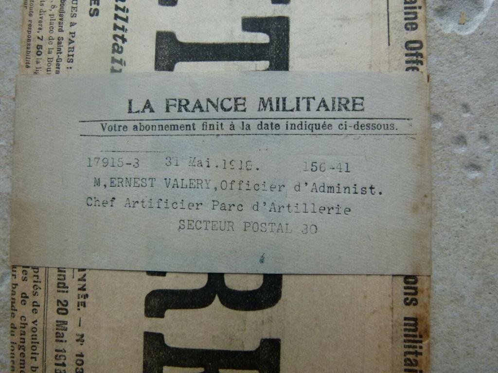 Du papier sympa,journal la france militaire. Jour1811
