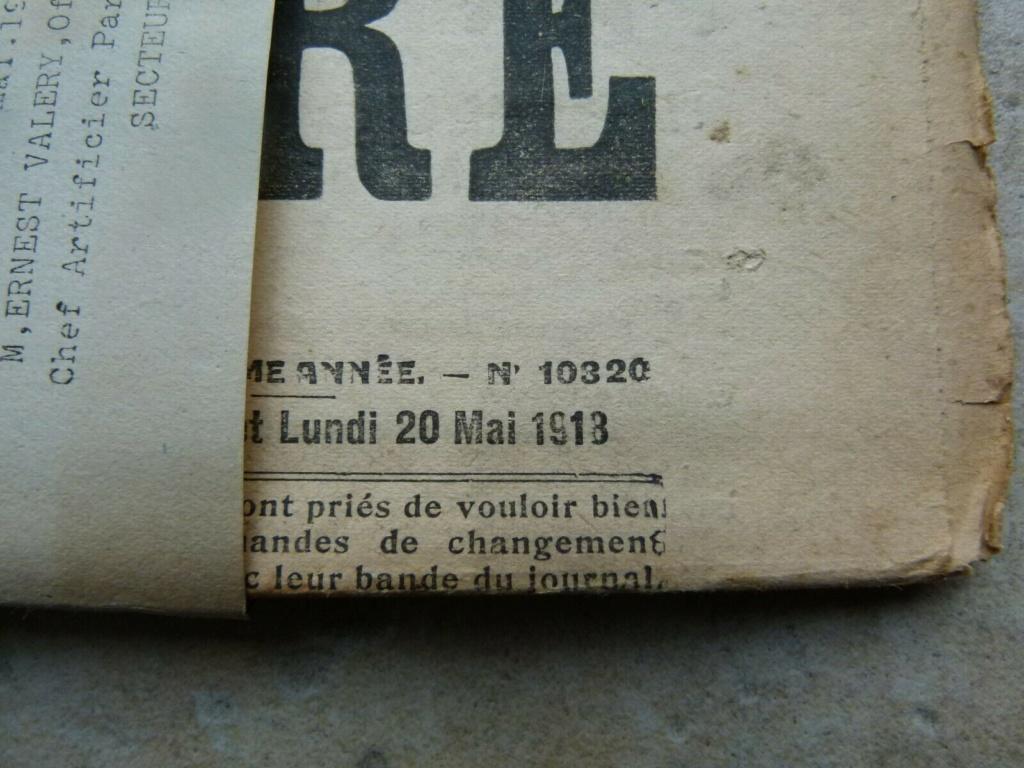 Du papier sympa,journal la france militaire. Jour1813