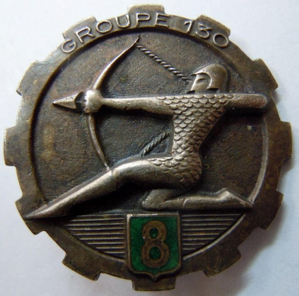 Photo de l'insigne Groupe de Transport 130/8 sur Renault Primaquatre 1940 S-l16013