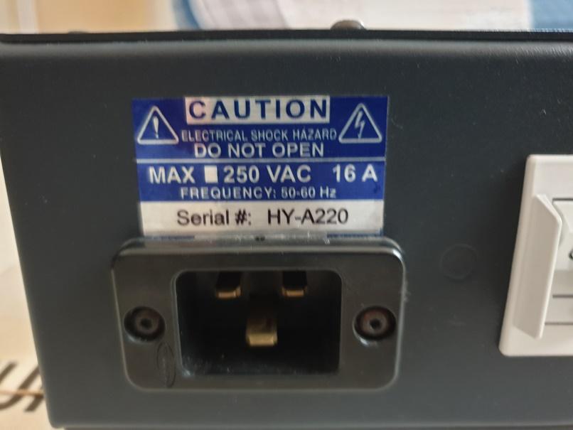 Shunyata Hydra Alpha Model 4 Power Conditioner (price reduced) Back_l10