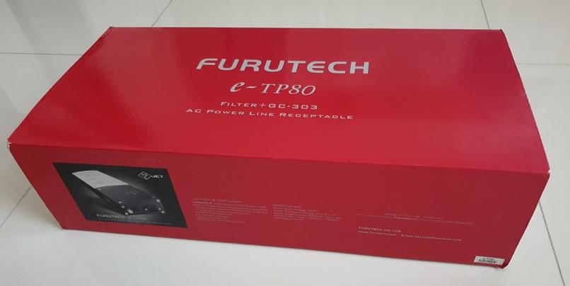 Furutech e-TP80 AC Power Filter Distributor (SOLD) Box10