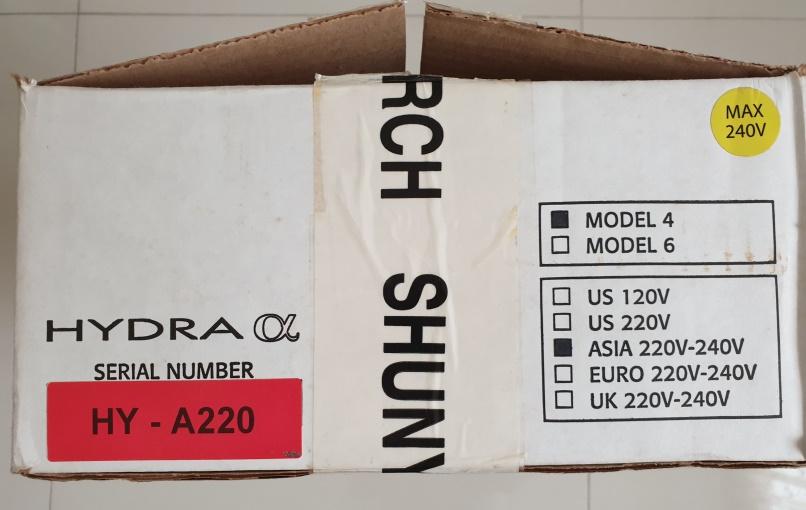 Shunyata Hydra Alpha Model 4 Power Conditioner (price reduced) Box_si13