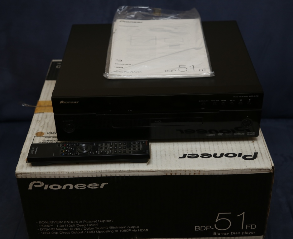 Pioneer Blu-ray Disc Player BDP-51FD Front13