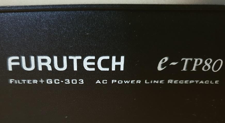Furutech e-TP80 AC Power Filter Distributor (SOLD) Model10