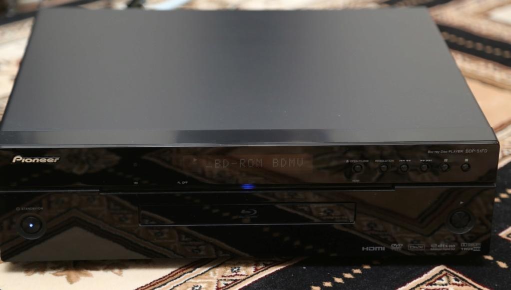 Pioneer Blu-ray Disc Player BDP-51FD Playin10