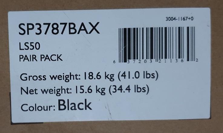 KEF LS50 Black (SOLD) Sticke13